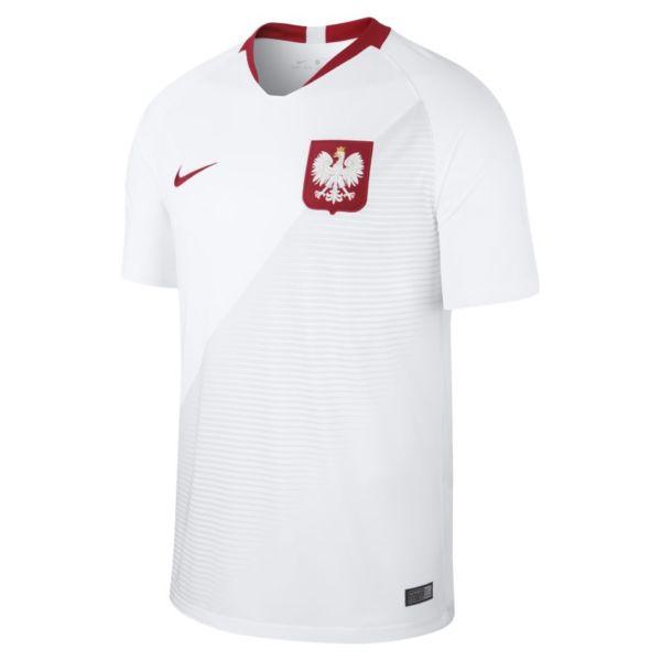 2018 Poland Stadium Home Camiseta de fútbol - Hombre - Blanco