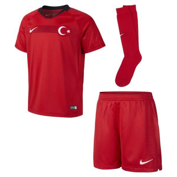 2018 Turkey Stadium Home Equipación de fútbol - Niño/a pequeño/a - Rojo