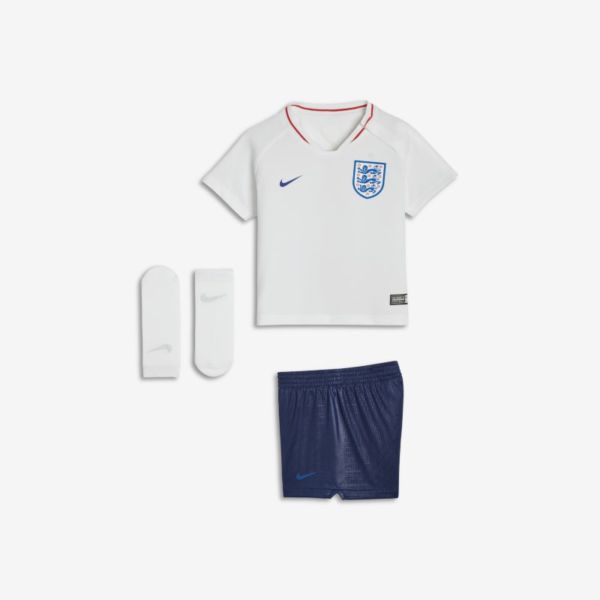 2018 England Stadium Home Equipación de fútbol - Bebé e infantil - Blanco