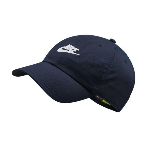 Nike Sportswear Heritage86 Futura Washed Gorra - Azul