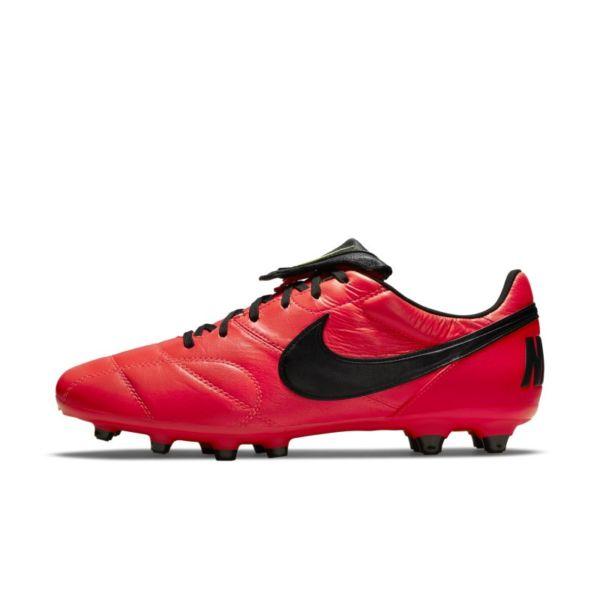 Nike Premier II FG Botas de fútbol para terreno firme - Rojo