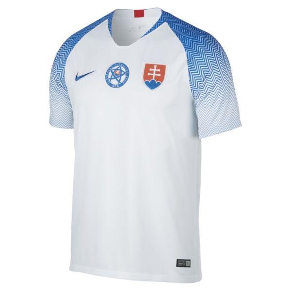 2018 Slovakia Stadium Home Camiseta de fútbol - Hombre - Blanco