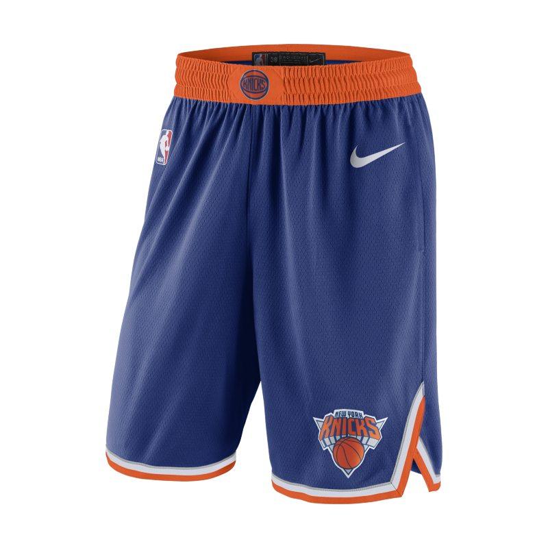New York Knicks Icon Edition Nike NBA Swingman Pantalón corto - Hombre - Azul