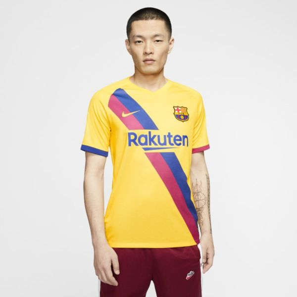 FC Barcelona 2019/20 Stadium Away Camiseta de fútbol - Hombre - Amarillo