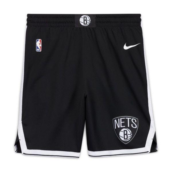 Brooklyn Nets Icon Edition Pantalón corto Nike NBA Swingman - Hombre - Negro