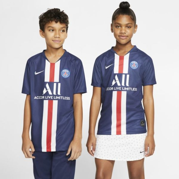 París Saint-Germain 2019/20 1ª equipación Stadium Camiseta de fútbol - Niño/a - Azul