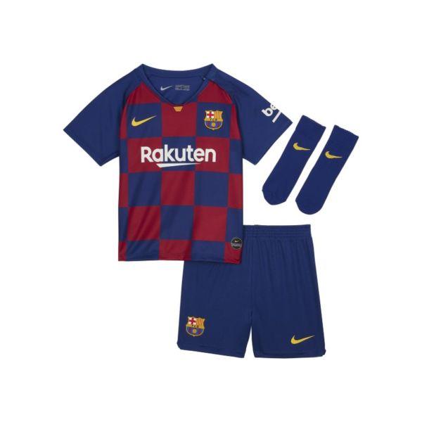 Primera equipación del FC Barcelona 2019/20 Equipación de fútbol - Bebé e infantil - Azul