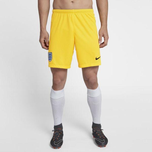 2018 England Stadium Goalkeeper Pantalón corto de fútbol - Hombre - Amarillo