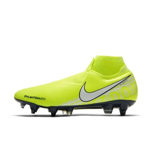 Nike Phantom Vision Elite Dynamic Fit Anti-Clog SG-PRO Botas de fútbol - Amarillo