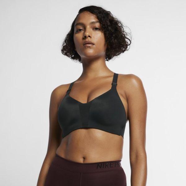 Nike Dri-FIT Rival Sujetador deportivo de sujeción alta con acolchado - Mujer - Negro