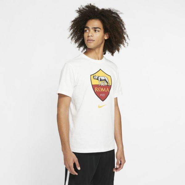 A.S. Roma Camiseta - Hombre - Blanco