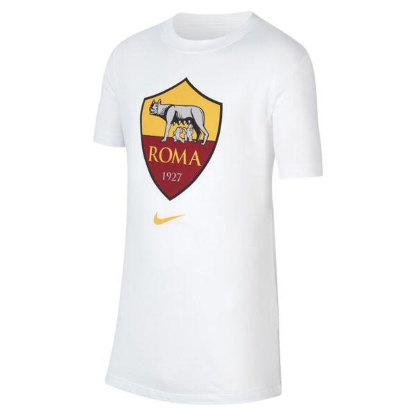 A.S. Roma Camiseta - Niño/a - Blanco