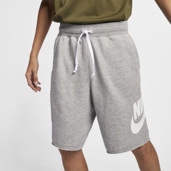 Nike Sportswear Alumni Pantalón corto de tejido French terry - Hombre - Gris
