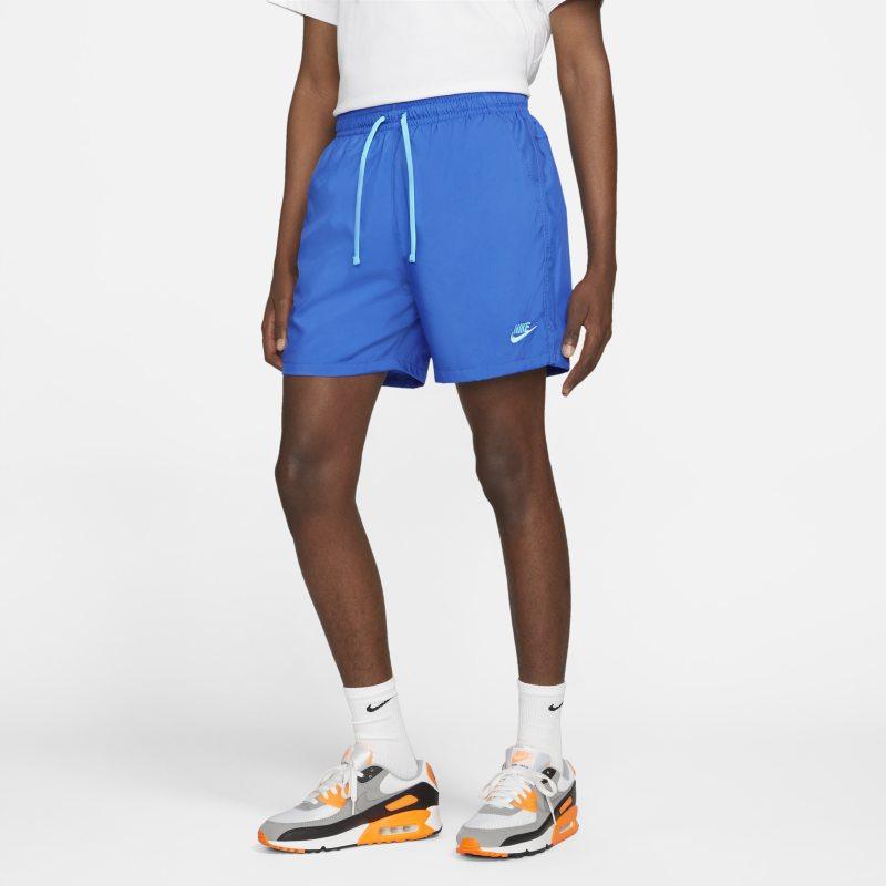 Nike Sportswear Pantalón corto de tejido Woven - Hombre - Azul