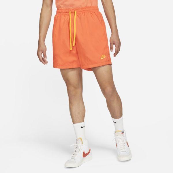 Nike Sportswear Pantalón corto de tejido Woven - Hombre - Naranja