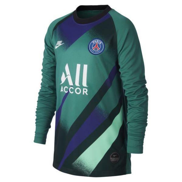 París Saint-Germain 2019/20 Stadium Goalkeeper Third Camiseta de fútbol - Niño/a - Verde