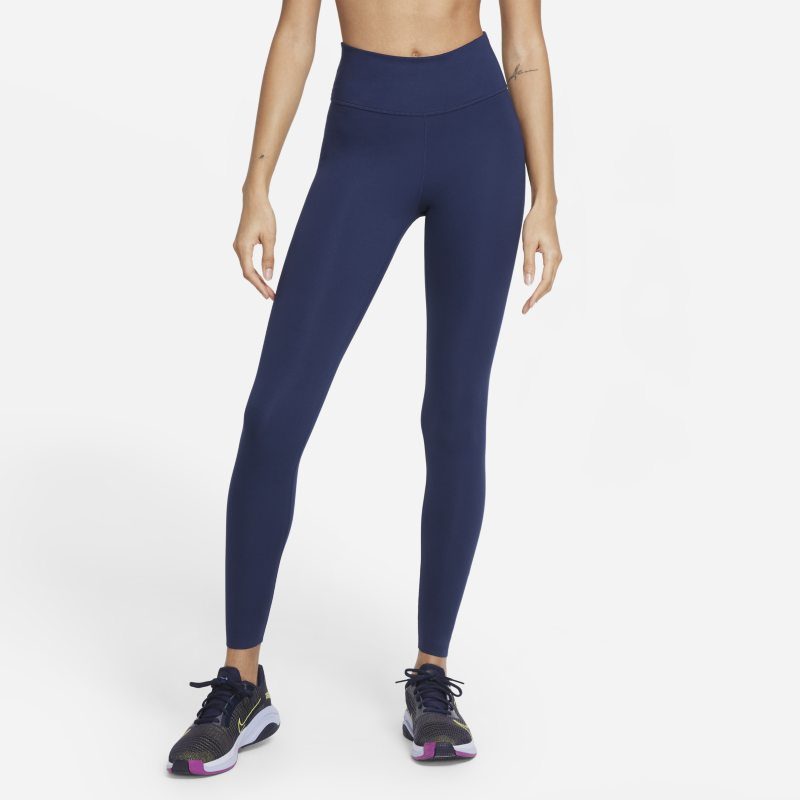 Nike One Luxe Leggings de talle medio - Mujer - Azul