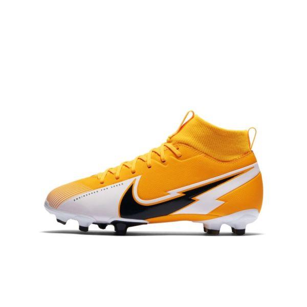 Nike Jr. Mercurial Superfly 7 Academy MG Botas de fútbol para múltiples superficies - Niño/a - Naranja
