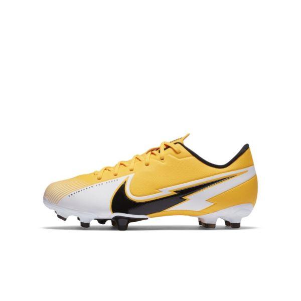 Nike Jr. Mercurial Vapor 13 Academy MG Botas de fútbol para múltiples superficies - Niño/a - Naranja