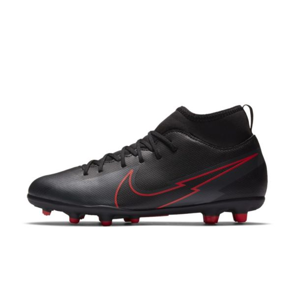 Nike Jr. Mercurial Superfly 7 Club MG Botas de fútbol multisuperficie - Niño/a y niño/a pequeño/a - Negro