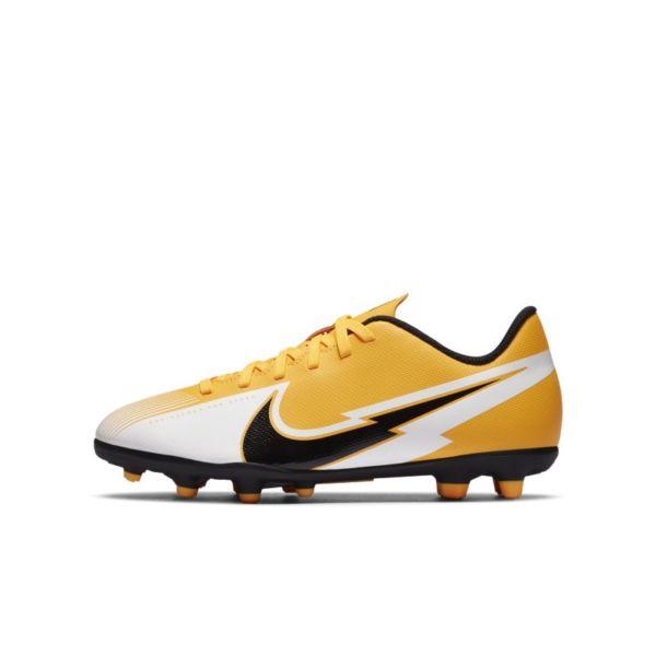 Nike Jr. Mercurial Vapor 13 Club MG Botas de fútbol multisuperficie - Niño/a y niño/a pequeño/a - Naranja