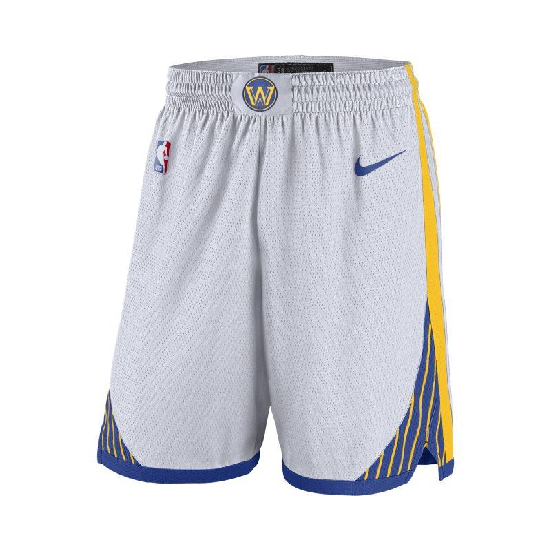 Golden State Warriors Pantalón corto Swingman Nike de la NBA - Hombre - Blanco