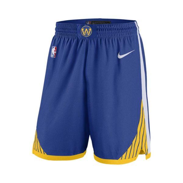 Golden State Warriors Icon Edition Nike NBA Swingman Pantalón corto - Hombre - Azul