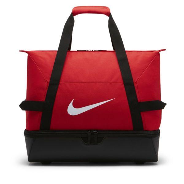 Nike Academy Team Hardcase Bolsa de deporte de fútbol (Grande) - Rojo