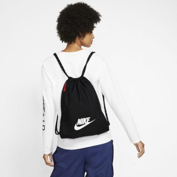 Nike Heritage 2.0 Saco de gimnasia - Negro