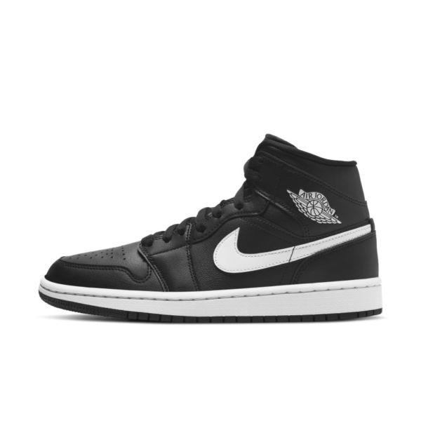 Air Jordan 1 Mid Zapatillas - Mujer - Negro