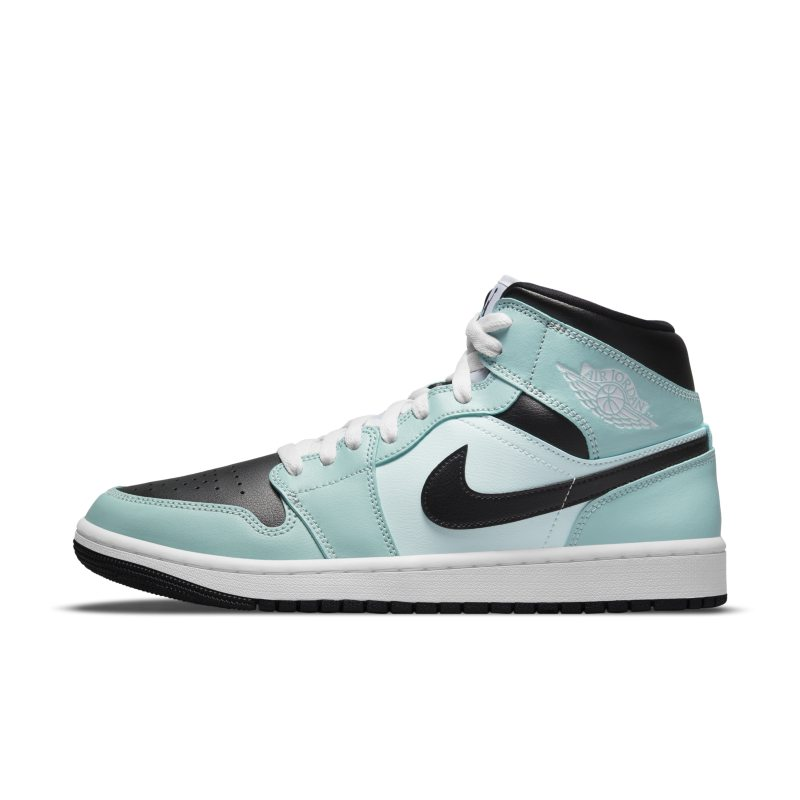 Air Jordan 1 Mid Zapatillas - Mujer - Azul