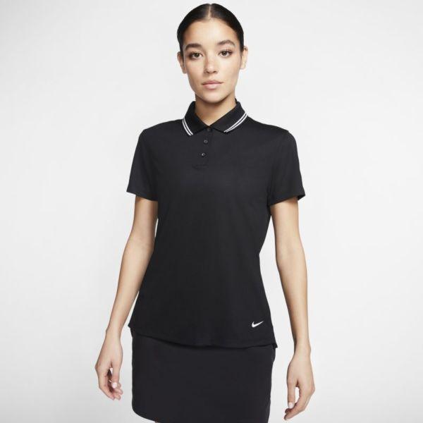 Nike Dri-FIT Victory Polo de golf - Mujer - Negro