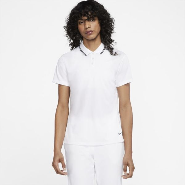 Nike Dri-FIT Victory Polo de golf - Mujer - Blanco