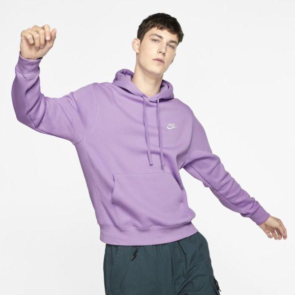 Nike Sportswear Club Fleece Sudadera con capucha - Morado