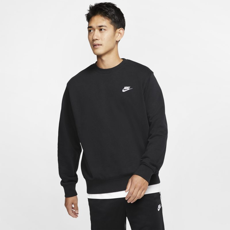 Nike Sportswear Club Sudadera de tejido French terry - Hombre - Negro