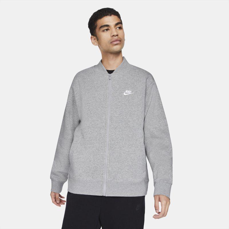 Nike Sportswear Club Fleece Chaqueta bomber - Hombre - Gris