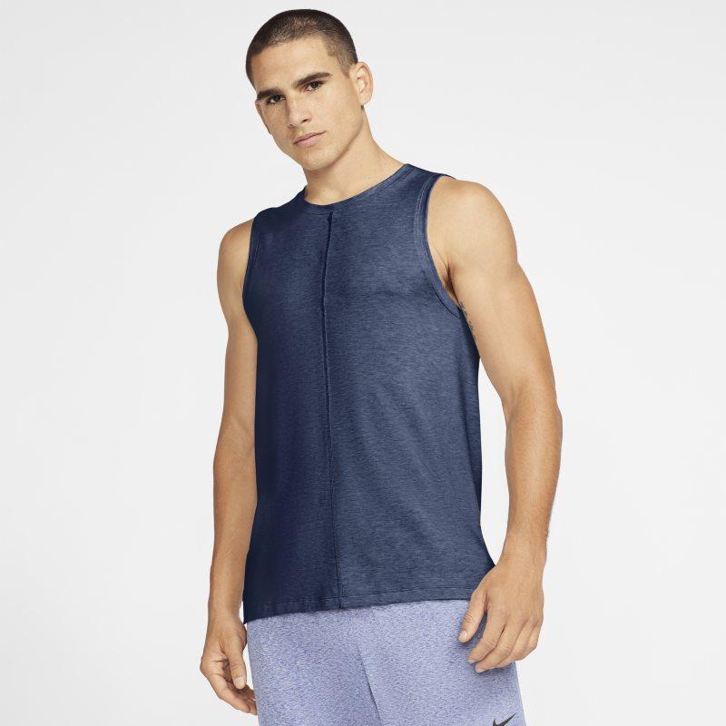 Nike Yoga Camiseta de tirantes - Hombre - Azul
