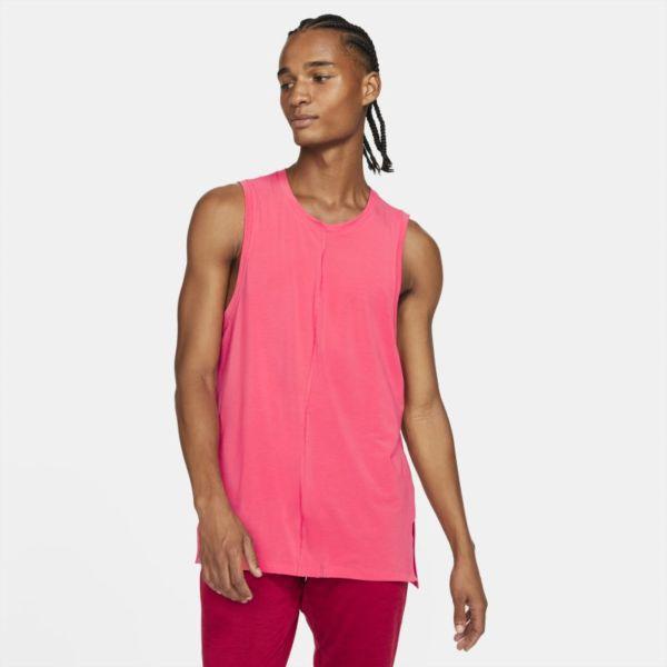 Nike Yoga Camiseta de tirantes - Hombre - Rojo