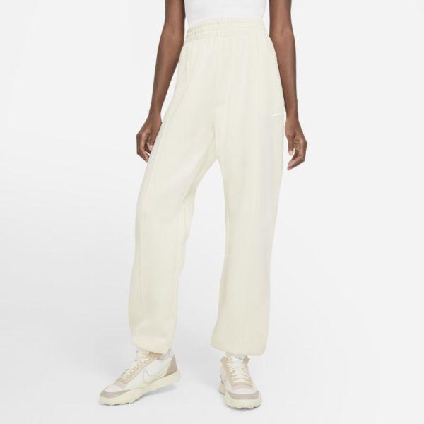 Nike Sportswear Essential Collection Pantalón de tejido Fleece - Mujer - Blanco