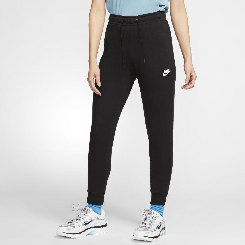 Nike Sportswear Essential Pantalón de tejido Fleece de talle medio - Mujer - Negro