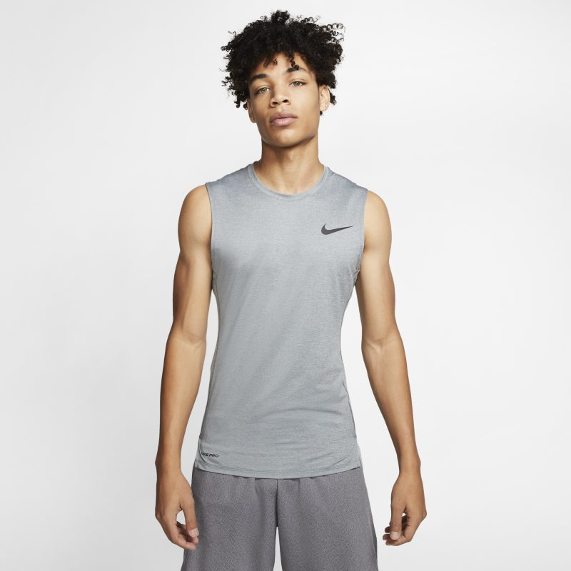 Nike Pro Camiseta sin mangas - Hombre - Gris