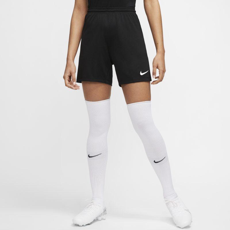 Nike Dri-FIT Park 3 Pantalón corto de fútbol de tejido Knit - Mujer - Negro