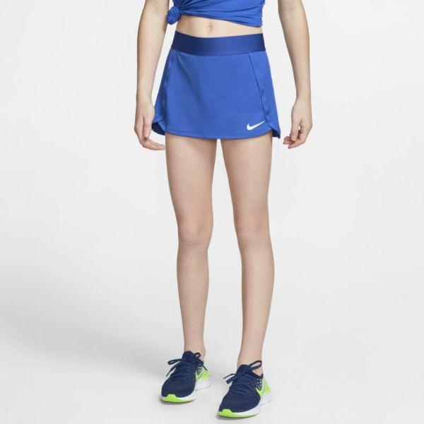 NikeCourt Falda de tenis - Niña - Azul