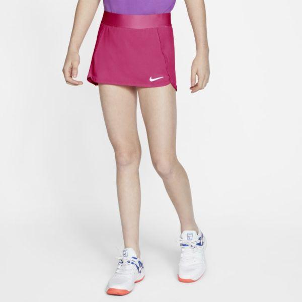 NikeCourt Falda de tenis - Niña - Rosa