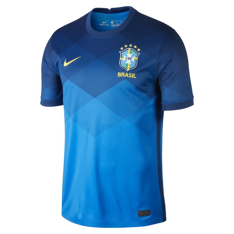 Segunda equipación Stadium Brasil 2020 Camiseta de fútbol - Hombre - Azul