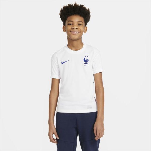 Segunda equipación Stadium FFF 2020 Camiseta de fútbol - Niño/a - Blanco