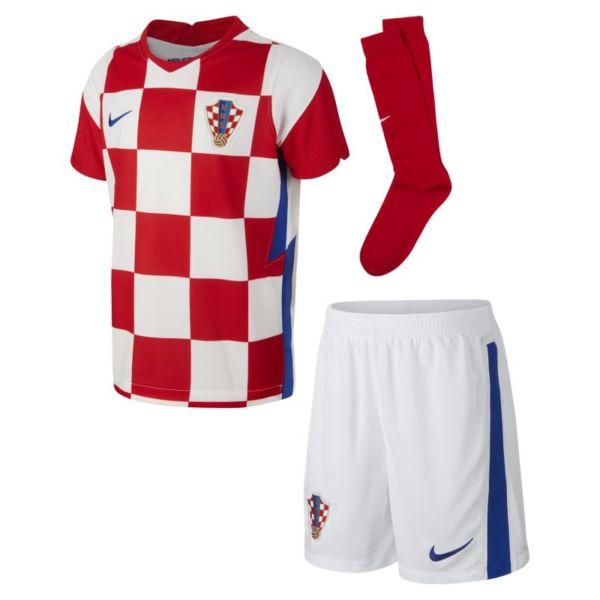 Primera equipación Croacia 2020 Equipación de fútbol - Niño/a pequeño/a - Blanco