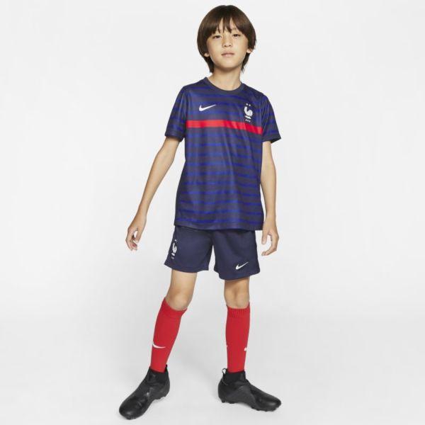 Primera equipación FFF 2020 Equipación de fútbol - Niño/a pequeño/a - Azul