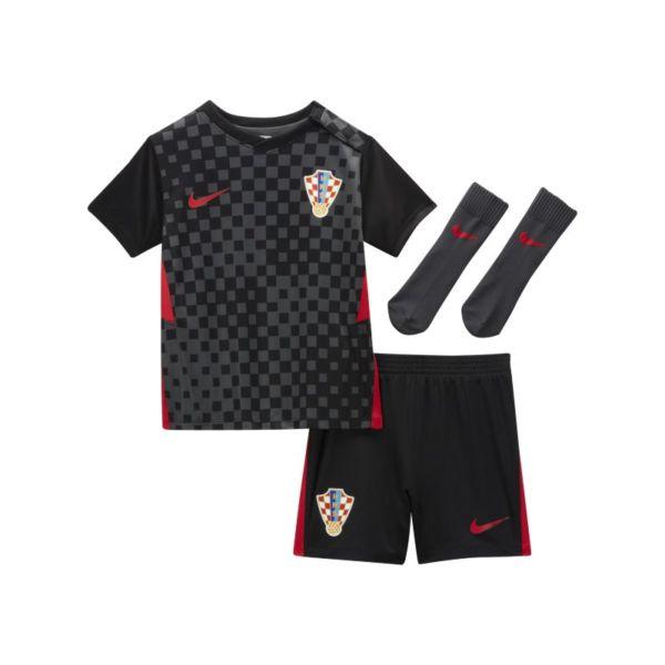 Segunda equipación Croacia 2020 Equipación de fútbol - Bebé e infantil - Negro