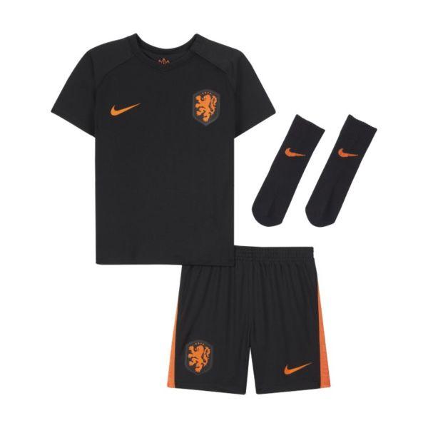 Segunda equipación Países Bajos 2020 Equipación de fútbol - Bebé e infantil - Negro